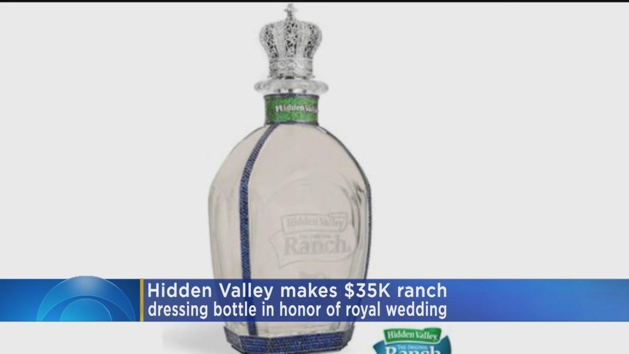 Hidden Valley's $35K Ranch Dressing Bottle Honors Royal Wedding