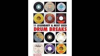 11 Legendary & Most Used Drum Breaks (LIVE DRUMS)