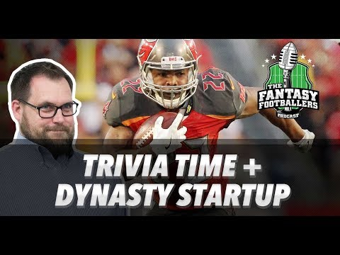Fantasy Football 2018 - Trivia Time, Dynasty Startup, Krampus Released - Ep. #525