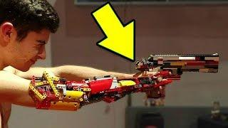 10 CRÉATIONS LEGO LES PLUS INCROYABLES AU MONDE| Eureka