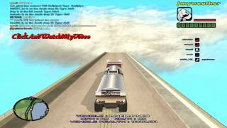 GTA SA MP Truck Falling Down From The Sky !!! By HDVideoGame