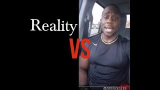 Derrick Jaxn vs Reality ( Response Video )