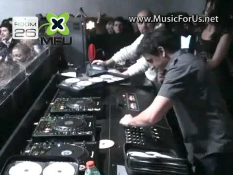 DINO MFU & LUIS RADIO @ Room 26 (Rome-Italy) 33 MINUTES TOUR VIDEO
