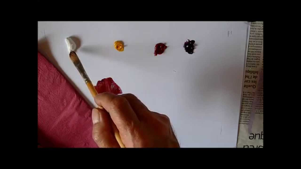 Comment faire la couleur fushia youtube for Peinture rose fushia
