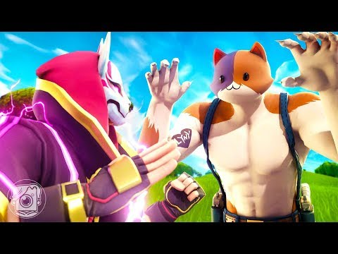 MEOWSCLES Vs. DRIFT: CAT FIGHT! *SEASON 2* (A Fortnite Short Film)