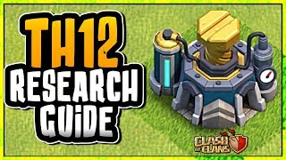 TOWN HALL 12 LAB RESEARCH GUIDE | WHAT TO RESEARCH FIRST | Clash of Clans