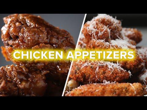 6 Best Savory Chicken Appetizers •Tasty