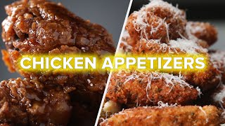 6 Best Savory Chicken Appetizers • Tasty