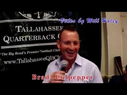 Brad Culpepper @Tallahassee Quarterback Club
