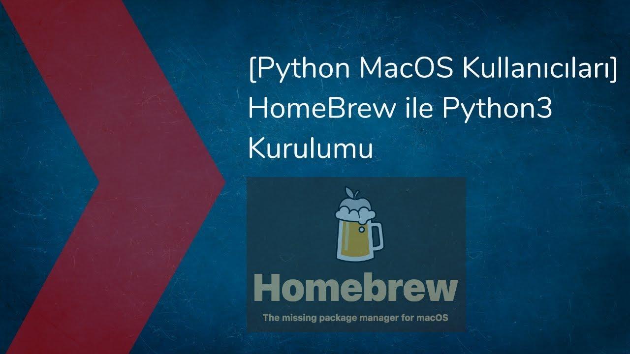Homebrew Python3