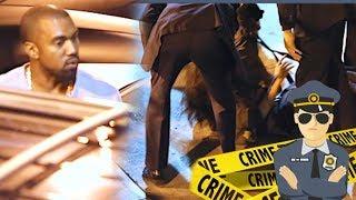 Kanye West Concerned As Police Restrain Enraged Fan [2013]