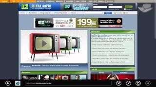 Primeiras impressões - Internet Explorer 10 - Baixaki