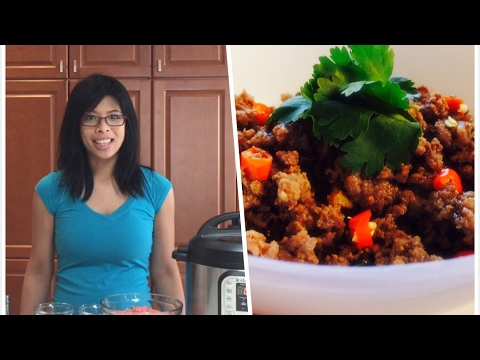 Thai Basil Beef – Instant Pot Ground Beef Recipes