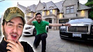 SURPRISING BEST FRIEND WITH $8 MILLION MANSION! (BIRTHDAY SURPRISE)
