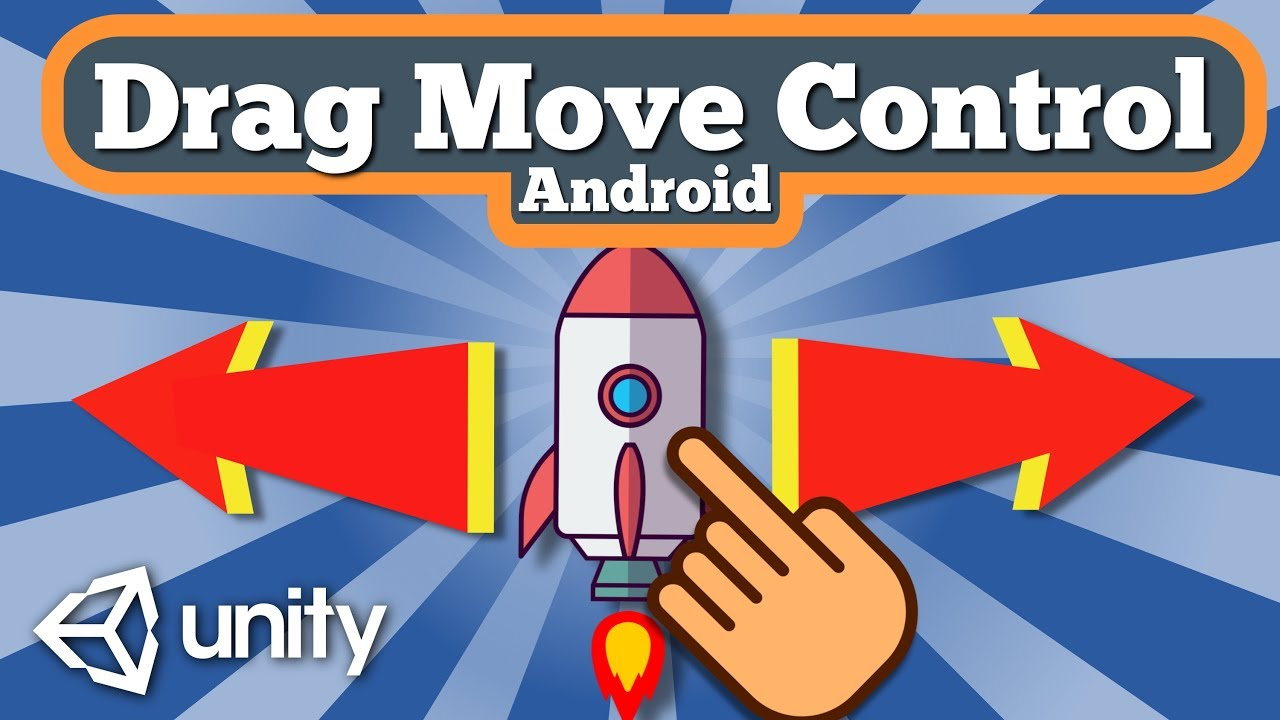 Unity 2D Tutorial How To Move Gameobject By The Screen Dragging Finger In Space Shooter Android Game
