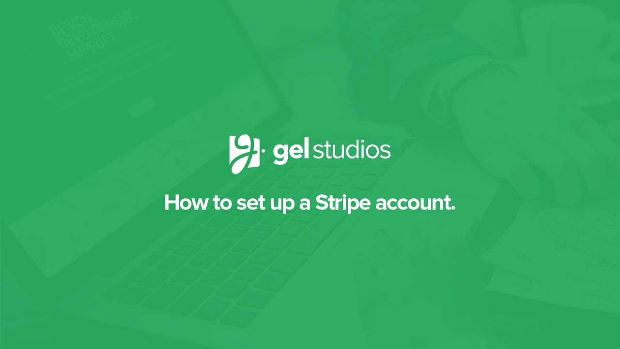 Setting up a Stripe account