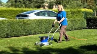 Mulczarka - kosiarka ogrodowa bezkoszowa z funkcją rozdrabniania trawy