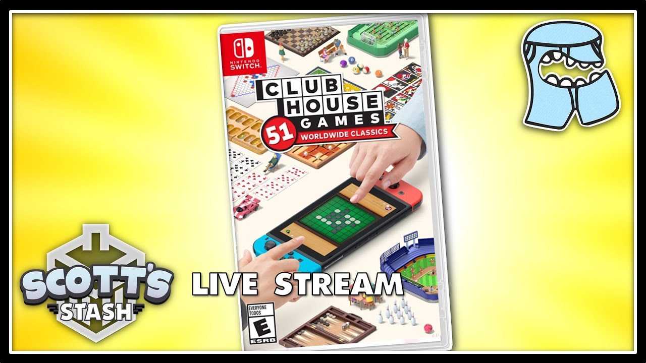 Clubhouse Games: 51 Worldwide Classics - ConnorEatsPants & Scott The Woz Live Stream (June 10, 2020)