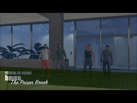 GTA Online Heists - The Prison Break - Finale