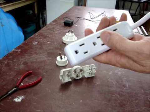 Wiring An NZ Plug To A North American Power Bar