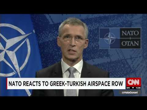 NATO uses two standards over Greece and Turkey