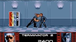 Terminator 2: Judgment Day (PC/DOS) Longplay, 1991, Ocean software, Ljn Ltd