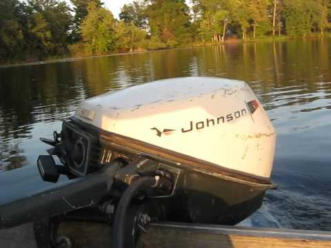 1970 Johnson Outboard Motor Youtube