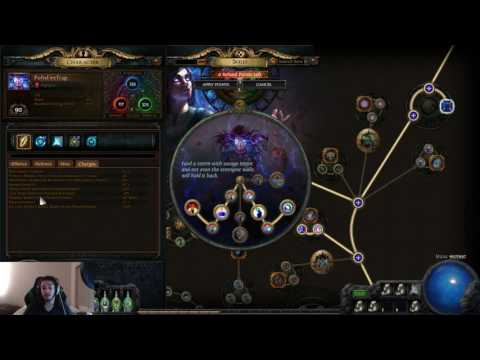 Path of Exile LHC - New Build Idea, Vortex Trickster?