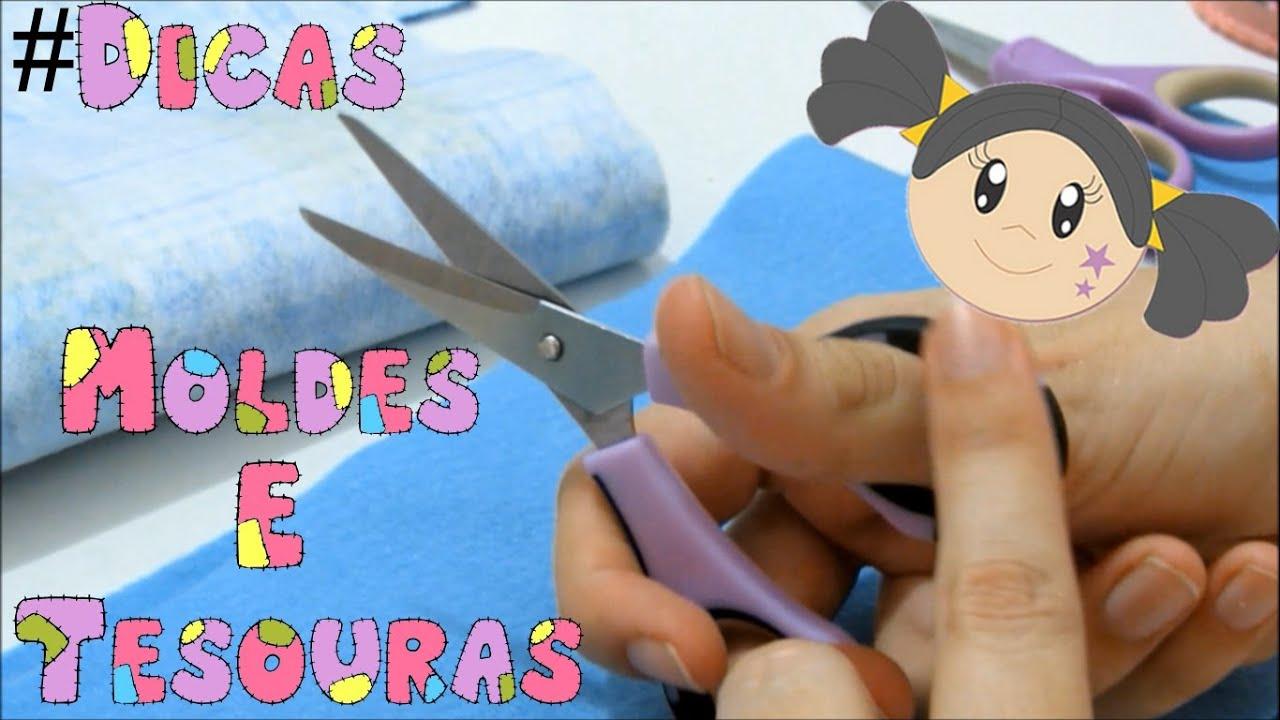 Artesanato Em Feltro Para Iniciantes ~ Moldes e Tesouras Dicas para Iniciantes com Priscila Cunha YouTube