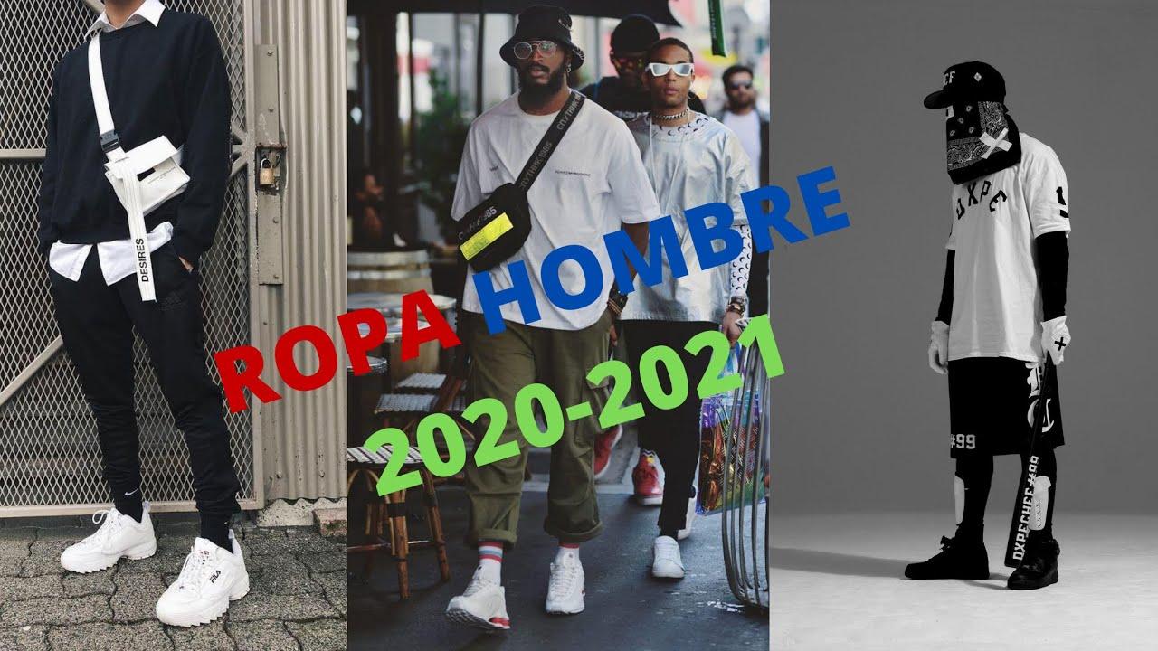 Moda Hombre 2020 2021 Ropa De Moda Juvenil Streetwear Youtube