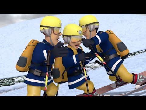 Fireman Sam full episodes | Teacher Penny: Fireman Sam ski lesson | Safety on the snow | Kids Movie
