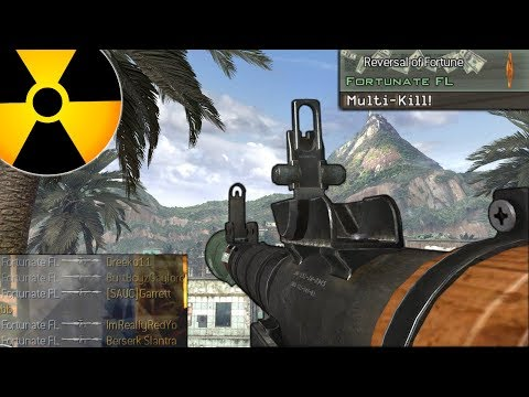 RPG Tactical Nuke Challenge Modern Warfare 2...