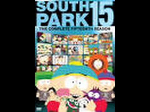 South Park 15 Season Discs 1 2 and 3 Dvd Menus