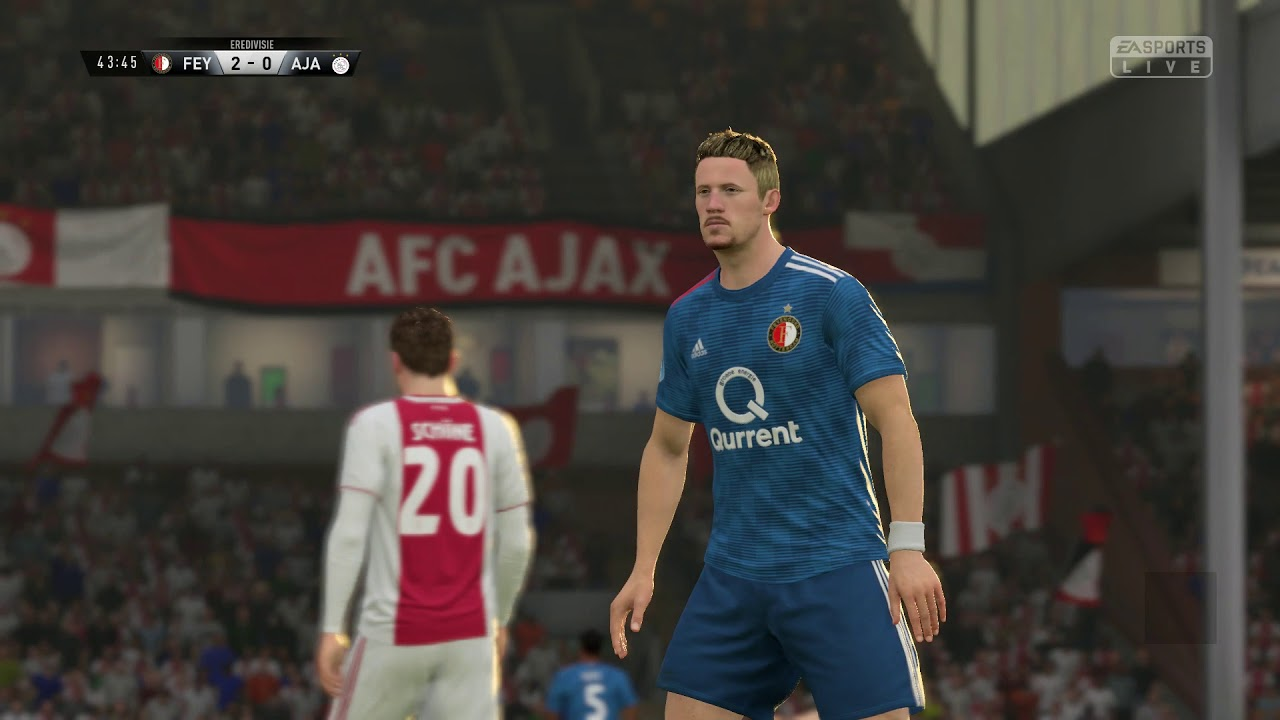 FIFA 19 Feyenoord vs Ajax - YouTube