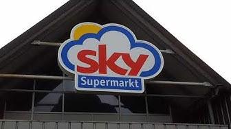 Sky Supermarkt wird zu REWE Markt- Jübek