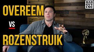 Can Alistair Overeem avoid Jairzinho Rozenstruik's power?
