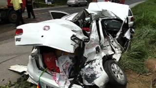 Quatro mortes em acidente na BR 262