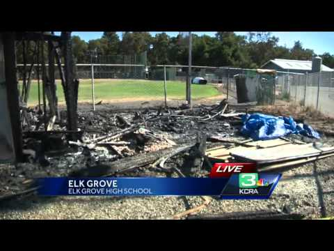 Fire at Elk Grove High School ruled arson