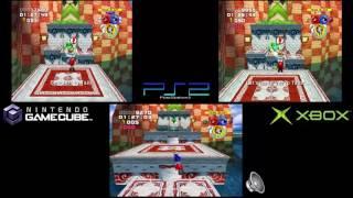 Sonic Heroes: Versions Comparison (GCN vs. PS2 vs. Xbox)