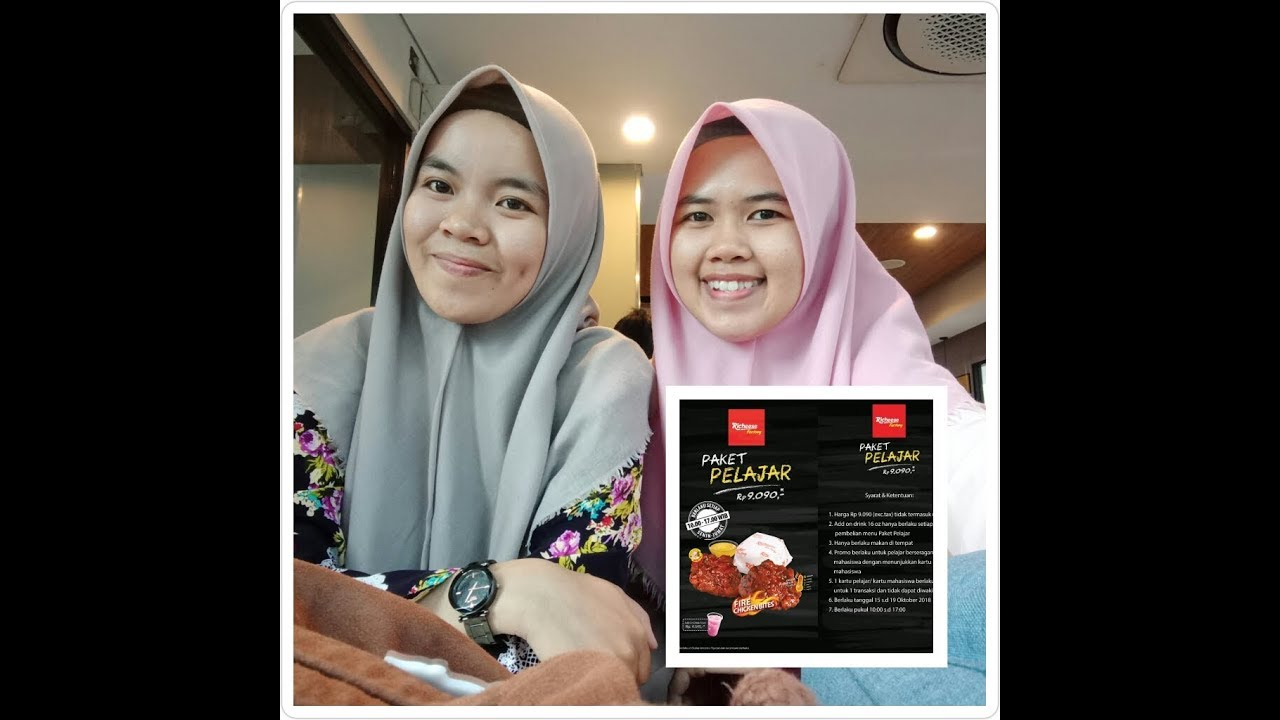 Richeese Factory Promo Paket Pelajar Youtube