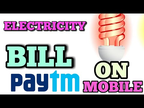 PAYTM || ELECTRICITY BILL PAY USING PAYTM ON YOUR MOBILE