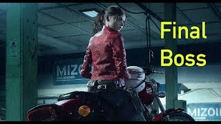 """Resident Evil 2 Remake   Final Boss + Ending    Claire No """"Commentary"""""""