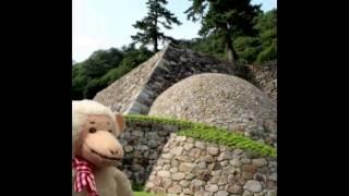 猿田うっきぃ鳥取城巻石垣 鳥取城 検索動画 26