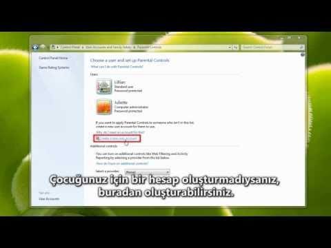Windows 7 : Ebeveyn Denetimleri ve Çocukların İnternet Eğitimi