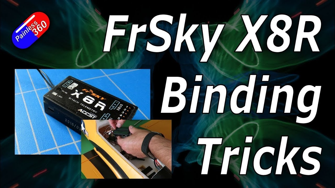 rc quick tip different binding options for the frsky x8r receiver [ 1280 x 720 Pixel ]