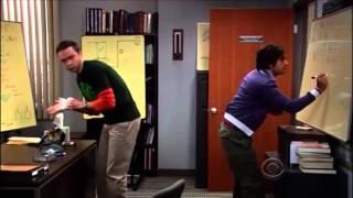TBBT - Sheldon and Raj's fight