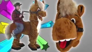 Pferde Kostüme Walking Act Maskottchen Lauffiguren : Kaufen : Produktion Herstellung   Maskottchen2