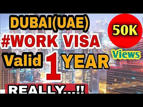 UAE EMPLOYMENT VISA RULES CHANGED | VALID ONLY 1 YEAR | REALLY !