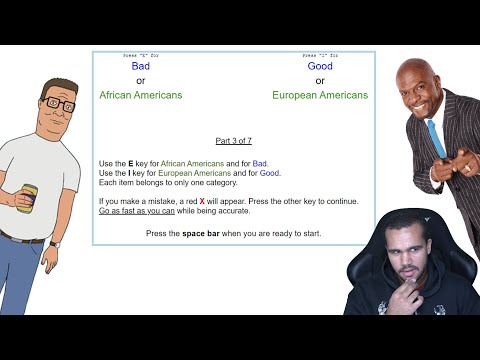 Black Guy Takes Implicit Bias Test