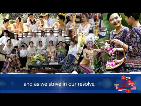 ASEAN Song of Unity with lyrics Low